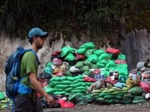 Basura, uno de los peores peligros para Machu Picchu