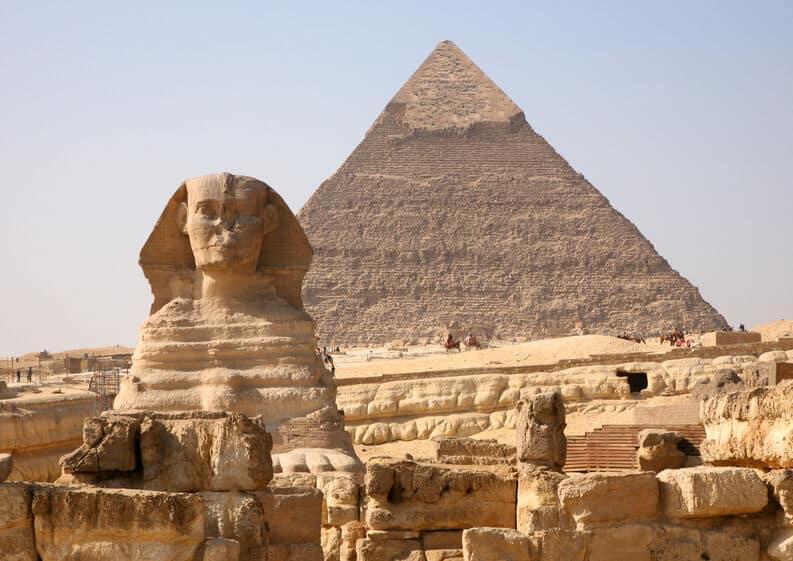 Las pirámides de Giza: maravilla del Mundo Antiguo