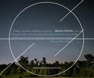 Frase inspiración de Machu Picchu