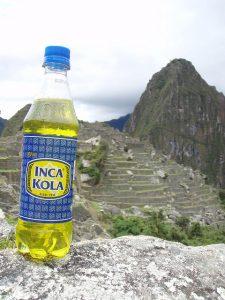 Inca Kola: que comer en Machu Picchu, pero sobretodo beber!