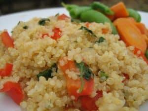 Quinoa: superalimento precolombino.