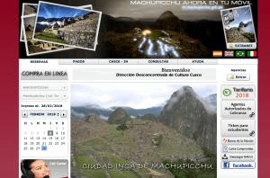 Como comprar las entradas a Machu Picchu
