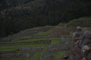 Terrazas de siembra de Chinchero