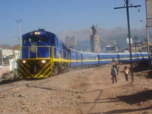Viajar en tren a machu picchu - peru rail