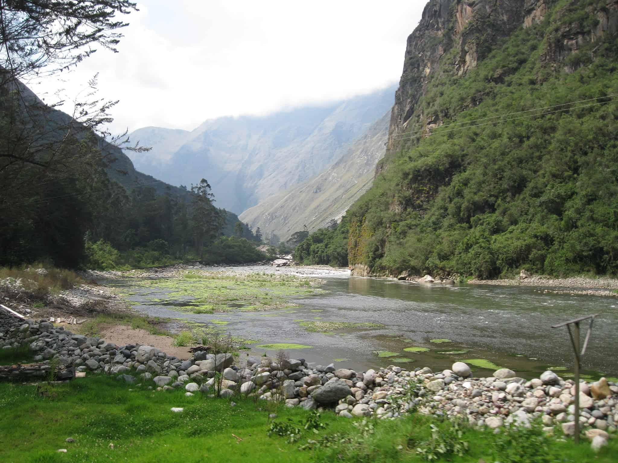 donde queda machu picchu - rio urubamba
