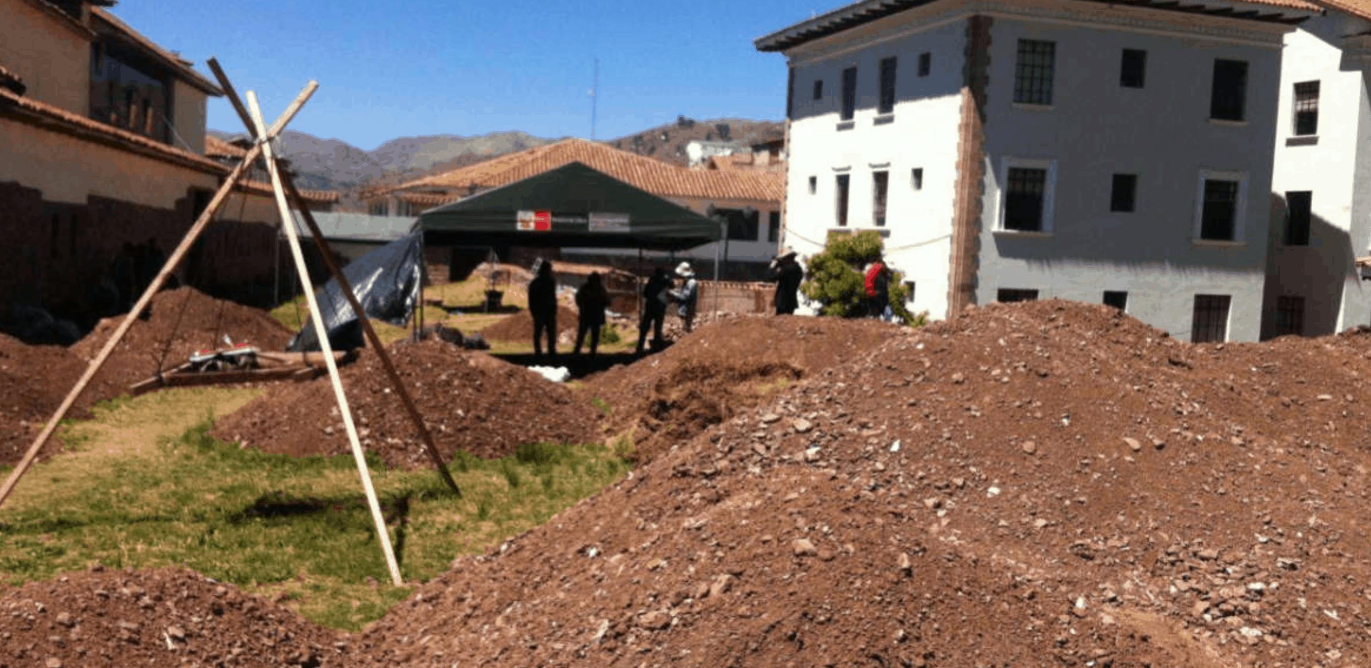 Descubren muro construido hace 500 años en Cusco