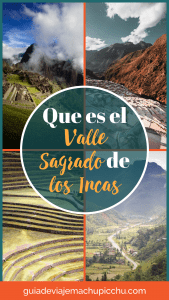 que es el valle sagrado de los incas