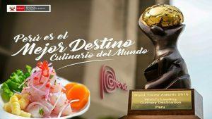 Perú sigue siendo mejor destino culinario del mundo en los World Travel Awards