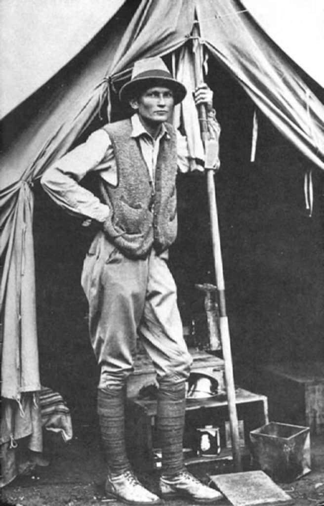 Hiram Bingham descubrio Machu Picchu
