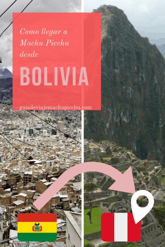 Como ir a Machu Picchu desde Bolivia