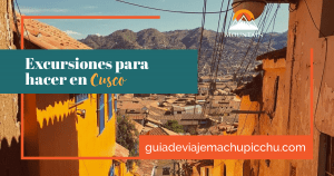 excursiones de cusco