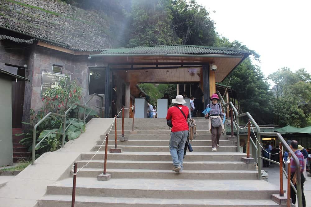 Acceso Principal a Machu Picchu, cerca de donde se inicia el Circuito 1