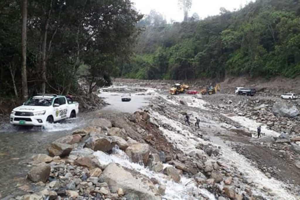 Ruta Hidroeléctrica Machu Picchu en temporada de lluvias.
