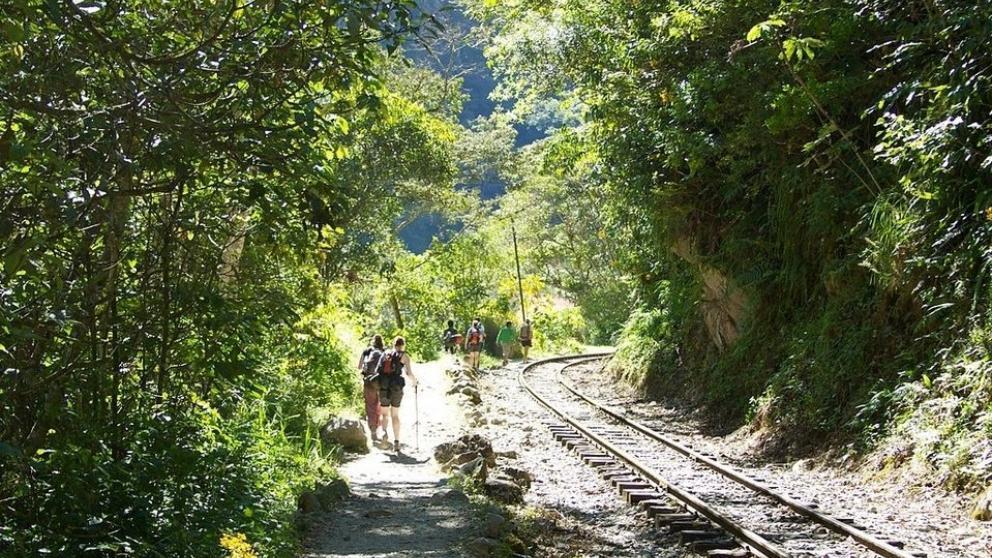 ruta alternativa Camino Hidroelectrica Machu Picchu