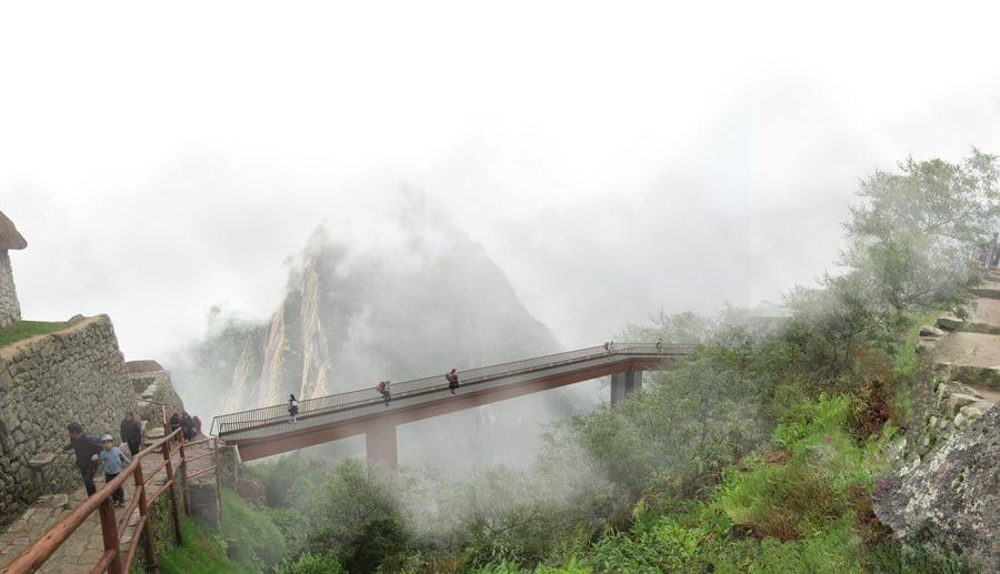 Puente rampa