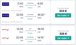 como viajar de España a Machu Picchu